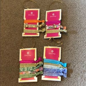 BNWT hair ties from Lilly Pulitzer for Target